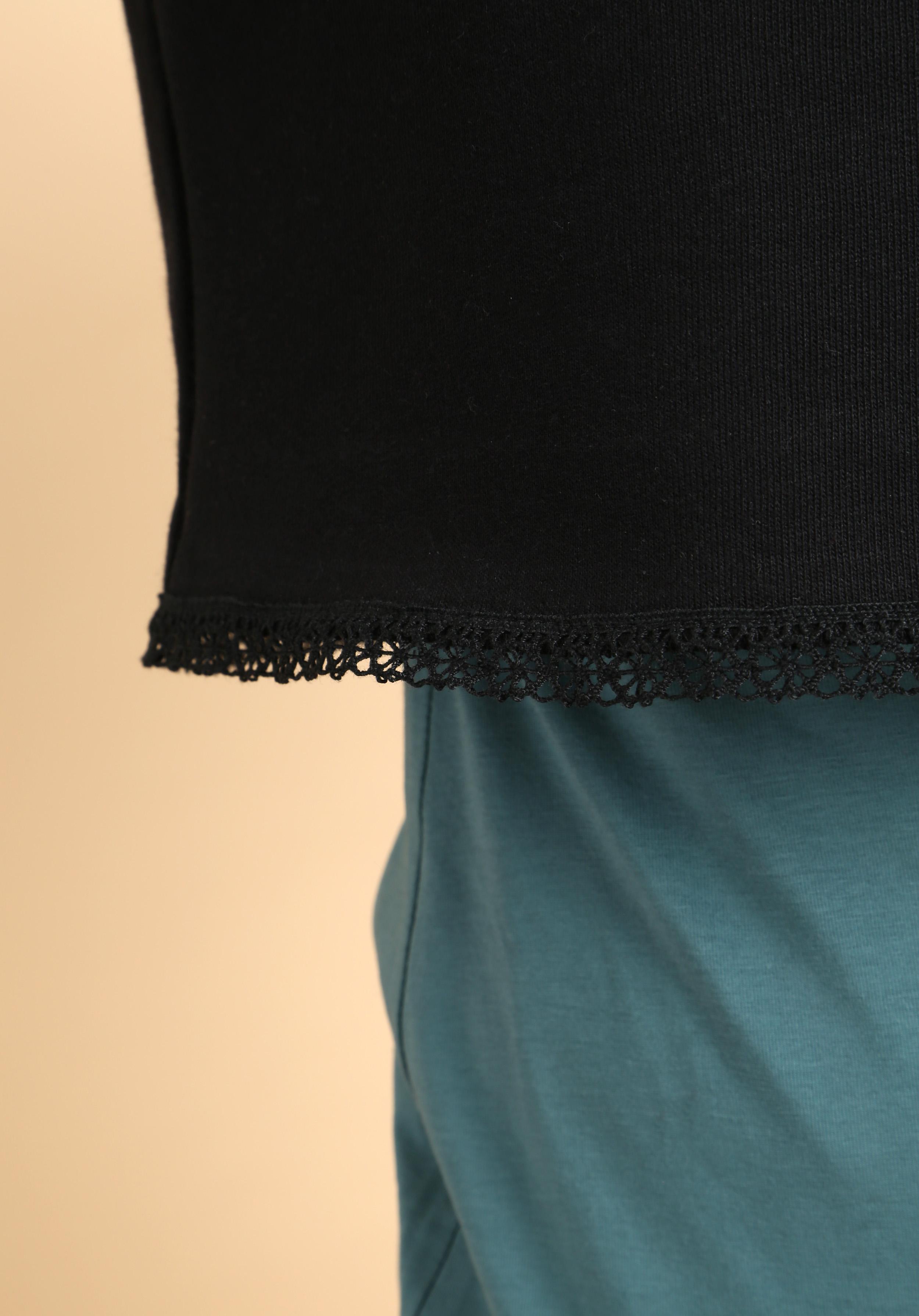 Kurzsweater Schwarz